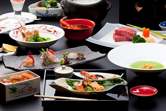 【おすすめ味覚プラン】上撰・季節の旬味を贅沢に「特選季節懐石」