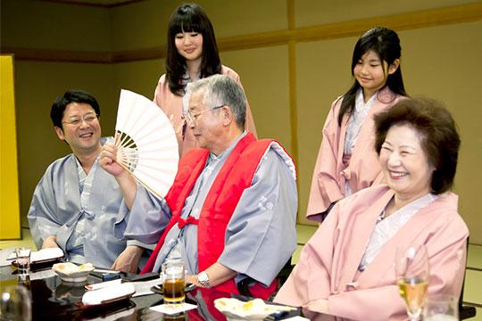 還暦・長寿のお祝いプラン~充実のお祝い特典満載!~
