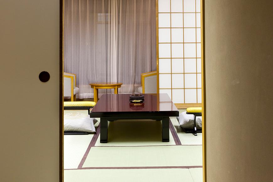 西館 6階客室【15畳又は12畳~13.5畳+6畳】