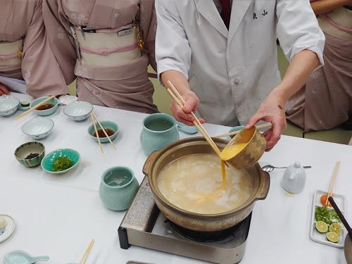 雑炊鍋研修